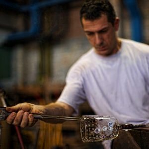 Glasmeester Matteo Tagliapietra