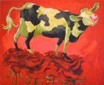 Adri Dijkhorst - Koe loopt op rozen