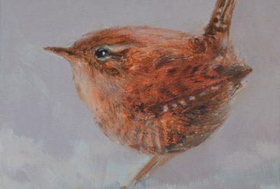 Dieren in de kunst: Gosia Bolwijn - Winterkoninkje