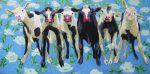 ijkhorst - Koeien op rozenmotief